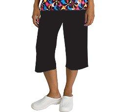 Madison Medical Uniforms Capri Scrub Pant (Black XS) [Apparel]