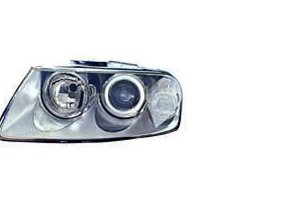 Volkswagen Touareg 04-07 Headlight Assembly Halogen Type LH USA Driver Side