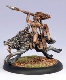 Privateer Press - Hordes - Circle Orboros: Tharn Wolf Rider Model Kit - 1