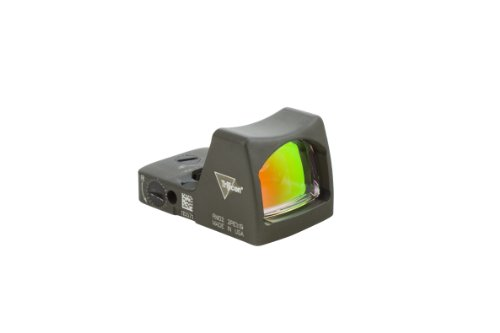 Ruggedized Miniature Reflex Rm01-C-700101 3.25 Moa Led Red Dot Sight, Od Green