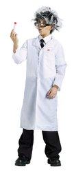 Mad Scientist Lab Coat Kids Costume