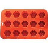 K9-Cakery-Mini-Paw-Silicone-Cake-Pan-9-by-55-Inch-15-Cavity