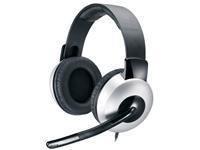 Genius HS-05A Stereo-Kopfhörer mit Mikrofon für PC Multimedia