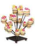 Dress My Cupcake Sofia Diamond Cupcake Stand - Stands Displays Trees for Cakes & Desserts