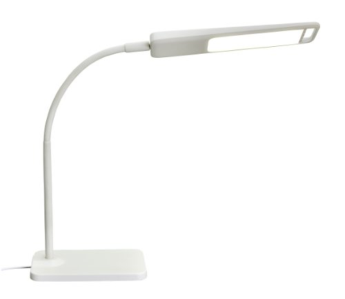ZITRADES Multi-Function 3 touch Step Brightness Control LED Desk Portable Eye-Protection Lamp With ultra-thin White BY ZITRADES