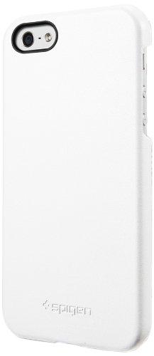 国内正規品SPIGEN SGP iPhone5/5S レザーケース ジェニュイン・レザーグリップ [ホワイト] SGP09602