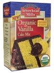 Arrowhead Mills Organic Cake Mix Vanilla -- 18.2 oz
