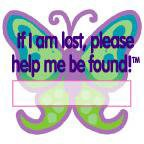 Lost & Found Temporary Tattoos - KIDS - CHild Safety Product