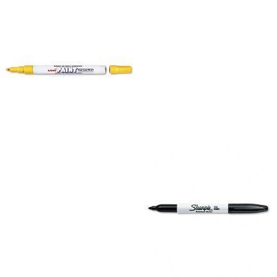 KITSAN30001SAN63705 - Value Kit - Sanford uni-Paint Marker (SAN63705) and Sharpie Permanent Marker (SAN30001) kitcyo588750pac103637 value kit crayola pip squeaks telescoping marker tower cyo588750 and pacon riverside construction paper pac103637