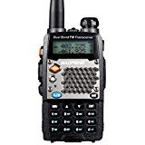 BaoFeng UV-5RD Two-way Radio, Dual-Band 136-174/400-480 MHz FM Ham, 128 Channels For Outdoor, Hotel,Restaurant - Black