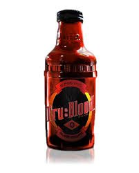True Blood! Tru Blood Vampire O Positive Drink! One Bottle NEW by OCP