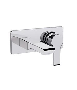 Kohler Singulier Single-Control Wall-Mount Lav Faucet Trim (Chrome Finish)