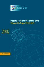 Dispute Settlement Reports 2002: Volume 9, Pages 3595-4077: Pages 3595-4077 v. 9 (World Trade Organization Dispute Settlement Reports)