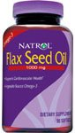Natrol, Flax Seed Oil 1000Mg - 90 Softgels