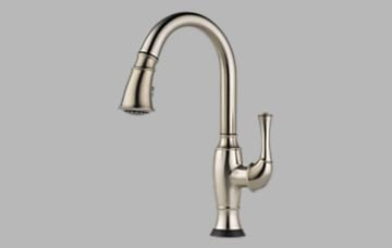 Brizo 64003LF-SS Talo Single Handle Pull-Down Kitchen Faucet with Smarttouch(R) Technology - Stainless