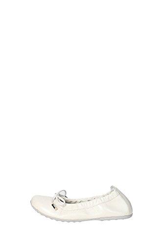 Ciao Bimbi 3770.06 Ballerina Bambina Pelle Bianco Bianco 32