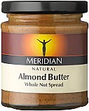 Meridian Almond Butter, Natural 6x170g