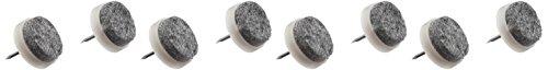Mintcraft FE-50320 Plastic/Felt Glide, 3/4-Inch, Quantity 8
