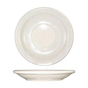 Saucer, 5-1/2 Dia, American White, PK 36 steelite a100p069 anfora white 5 1 2 saucer 24 cs