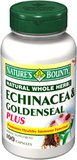 Nature's Bounty, Echinacea & Goldenseal Root Plus, 100 Capsules