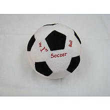 My First Plush Soccer Ball front-950476