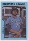 Mike Payne (Baseball Card) 1985 Richmond Braves TCMA #6 by Richmond Braves TCMA