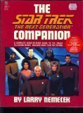 The Star Trek, The Next Generation Companion (0671794604) by Larry Nemecek