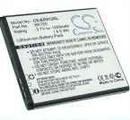 Battery for Sony Ericsson Xperia X12 BA750 3.7V 1200mAh