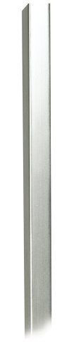 30 long brushed steel metal cord cover 736101064770. Black Bedroom Furniture Sets. Home Design Ideas