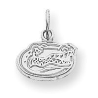 University of Florida Sterling Silver Pendant with Chain