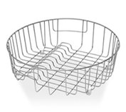 Stainless Steel Drainer Basket for Round Sinks 385mm ...