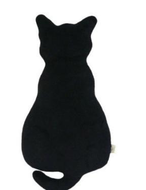 抱き枕 黒猫(大) ブラック大型クッション プレゼントに人気 -