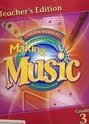 Silver-Burdett Making Music, California Teachers Edition, Part 1, Grade 3