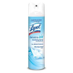 Lysol 79196 10 Oz. Morning Linen Neutra Air Aerosol (Case of 12)