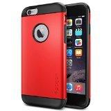 iPhone 6 ケース Spigen Apple iPhone 4.7 (2014) スリム アーマー (国内正規品) (エレクトリック・レッド SGP10956)
