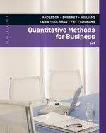 Quantitative Methods for Business, 12th Edition