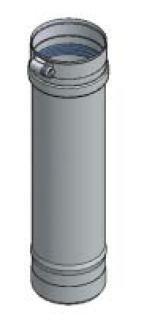 "Duravent Fsvl1204 Fasnseal 4"" Vent Length (12"" Long X 4"" Diameter) (300016)"