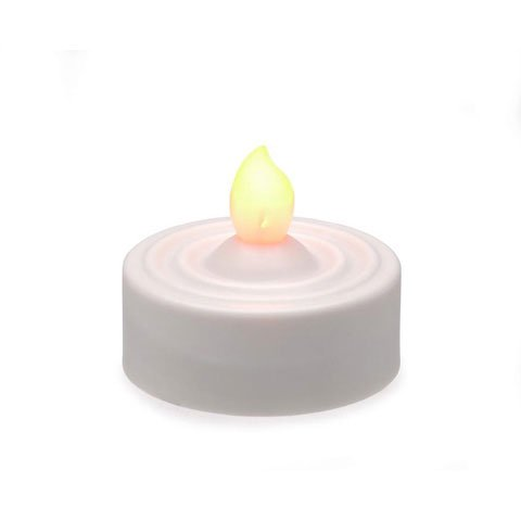 Bulk Buy: Darice Diy Crafts Led Tea Lights 100 Hour 4 Pieces (4-Pack) 6201-90