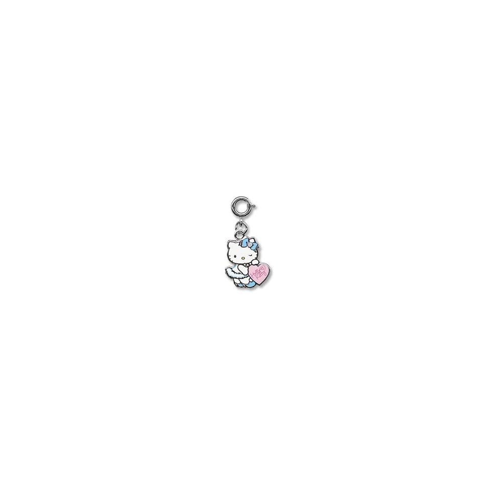 Sanrio Hello Kitty Superstar Heart Charm with Crystals
