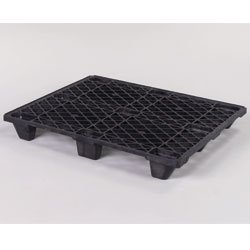 CABKA One-Way Shipping Pallets - Black - Lot of 5