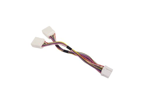 honda-acura-goldwing-cavo-a-y-adattatore-14pin-yt-hony-per-audio-navi-cdc-tuning-modelli-2006-2012