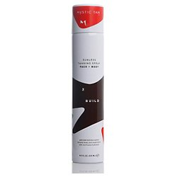 Mystic Tan Step 2 Build, Sunless Tanning Spray Face & Body 5 fl oz (150 ml)