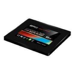 シリコンパワー 【SSD】SATA3準拠6Gb/s 2.5インチ 7mm 60GB MLCチップ使用 SP060GBSS3S55S25