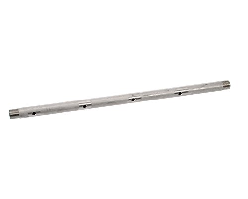 Stero Dishwasher B10-2680 4-Hole Stainless Steel Pipe, 18-1/2-Inch