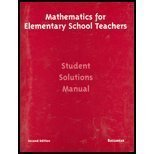 Mathematics For Elementary Teachers by Bassarear