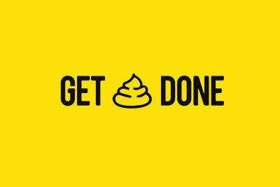 Get Shit Done' Motivational Quote Poster Paper Print(18 inch X 12 inch, Rolled)