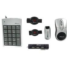 Targus Laptop Mobile Accessory Bundle Includes Mouse, Keypad, Hub, Surge Protectors - Bus0056