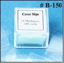 Seoh Cover Slips Glass Pre-Cleaned 100/Bx 22X22Mm