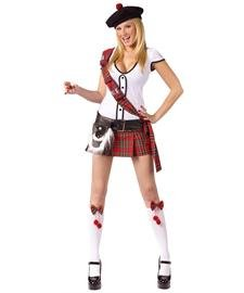 Sexy Scottie Adult Costume Size M/L (10-14)