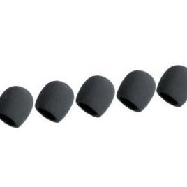 Bluecell Black 5 Pack Microphone Windscreen Foam Cover